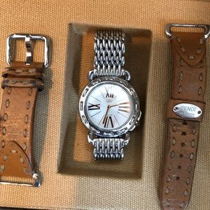Rare Fendi Selleria Watch 2 bands